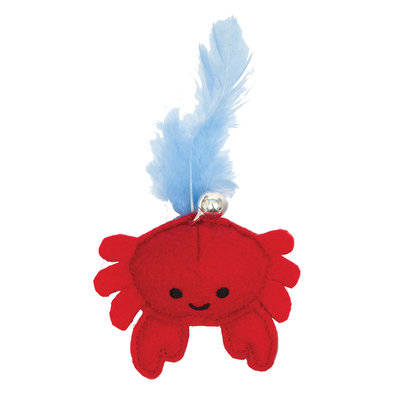 Catit Play , Pirates Toy - Crab - Red