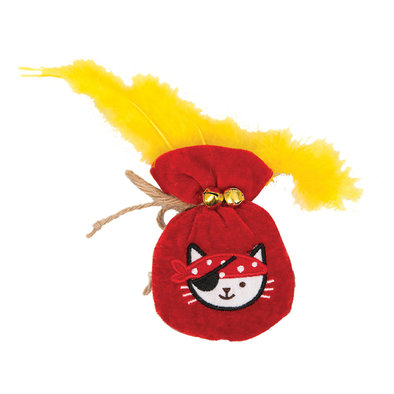 Play Pirates Toy - Pouch of Gold - Red