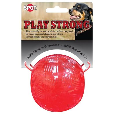 """Play Strong Rubber Ball - 3.25"""""""