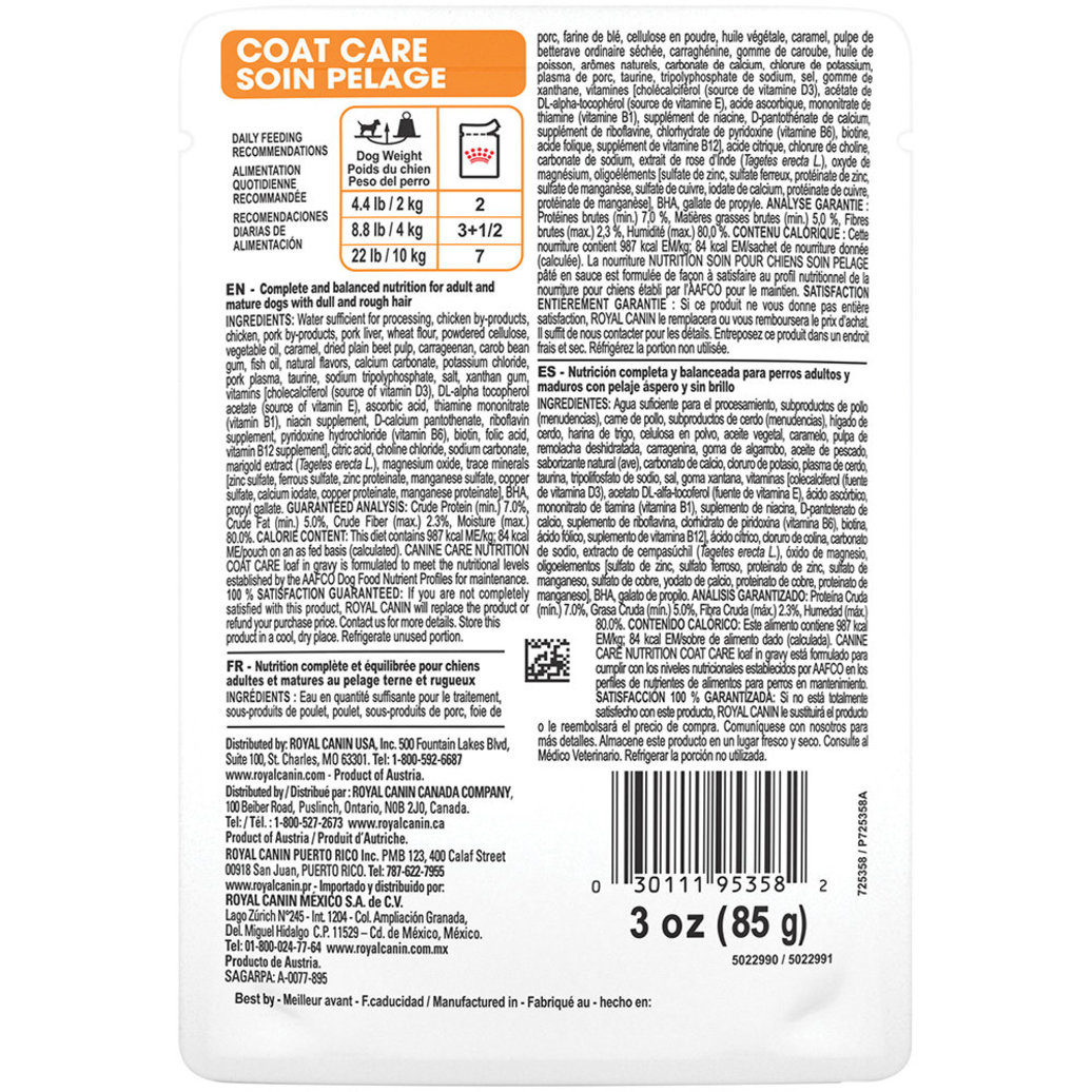 View larger image of Pouch, Coat Care - 85 g