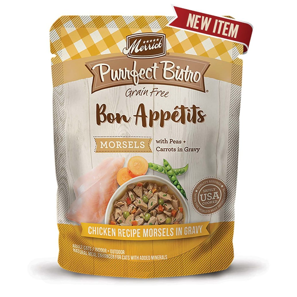 View larger image of Pouch, Purrfect Bistro - Chicken Morsels - 85 g