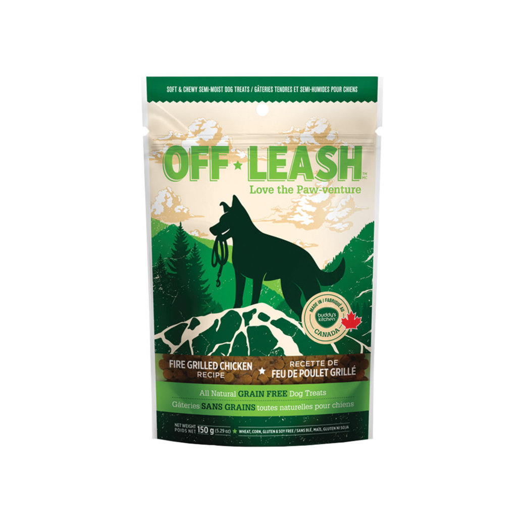 View larger image of Off Leash Grilled Chicken - Small - 150 g