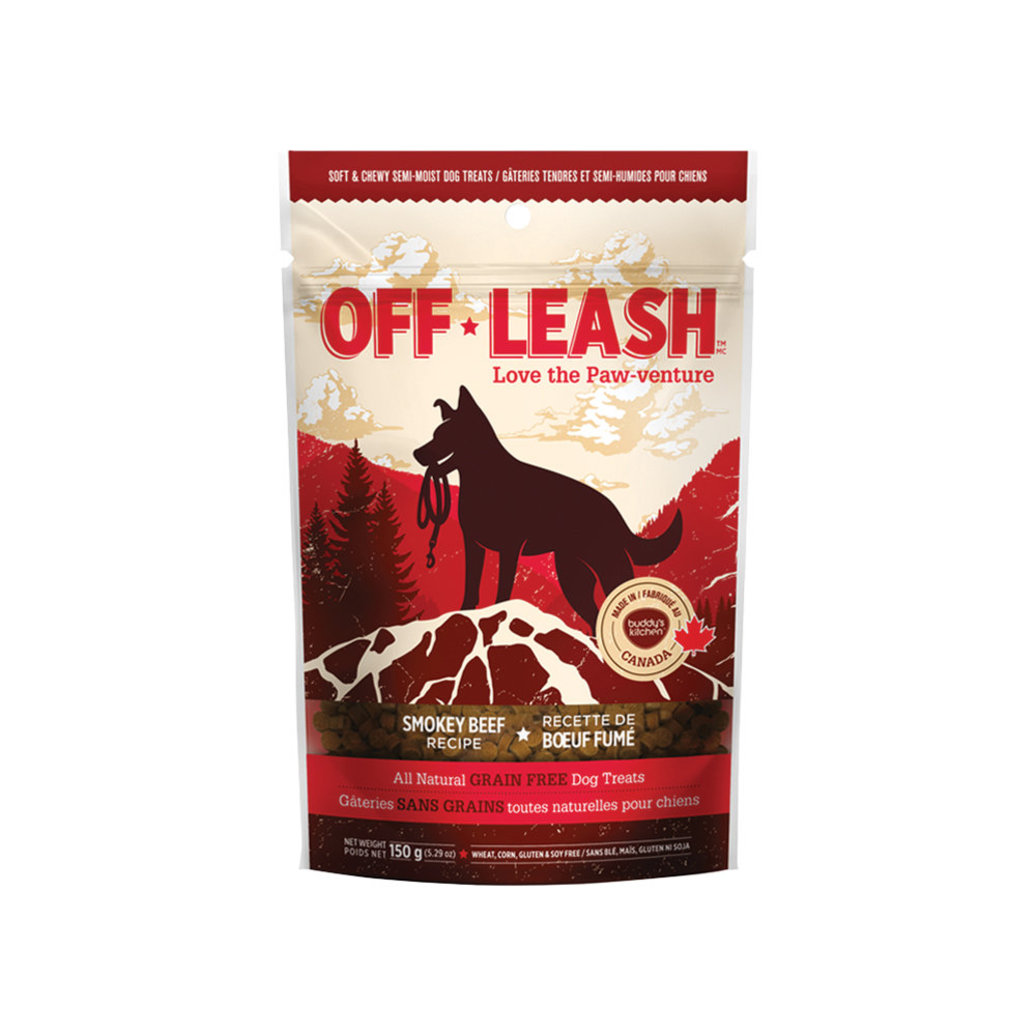 View larger image of Off Leash Smokey Beef - Small - 150 g
