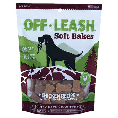Off Leash - Soft Bakes - Chicken w/ Cinnamon - 141 g