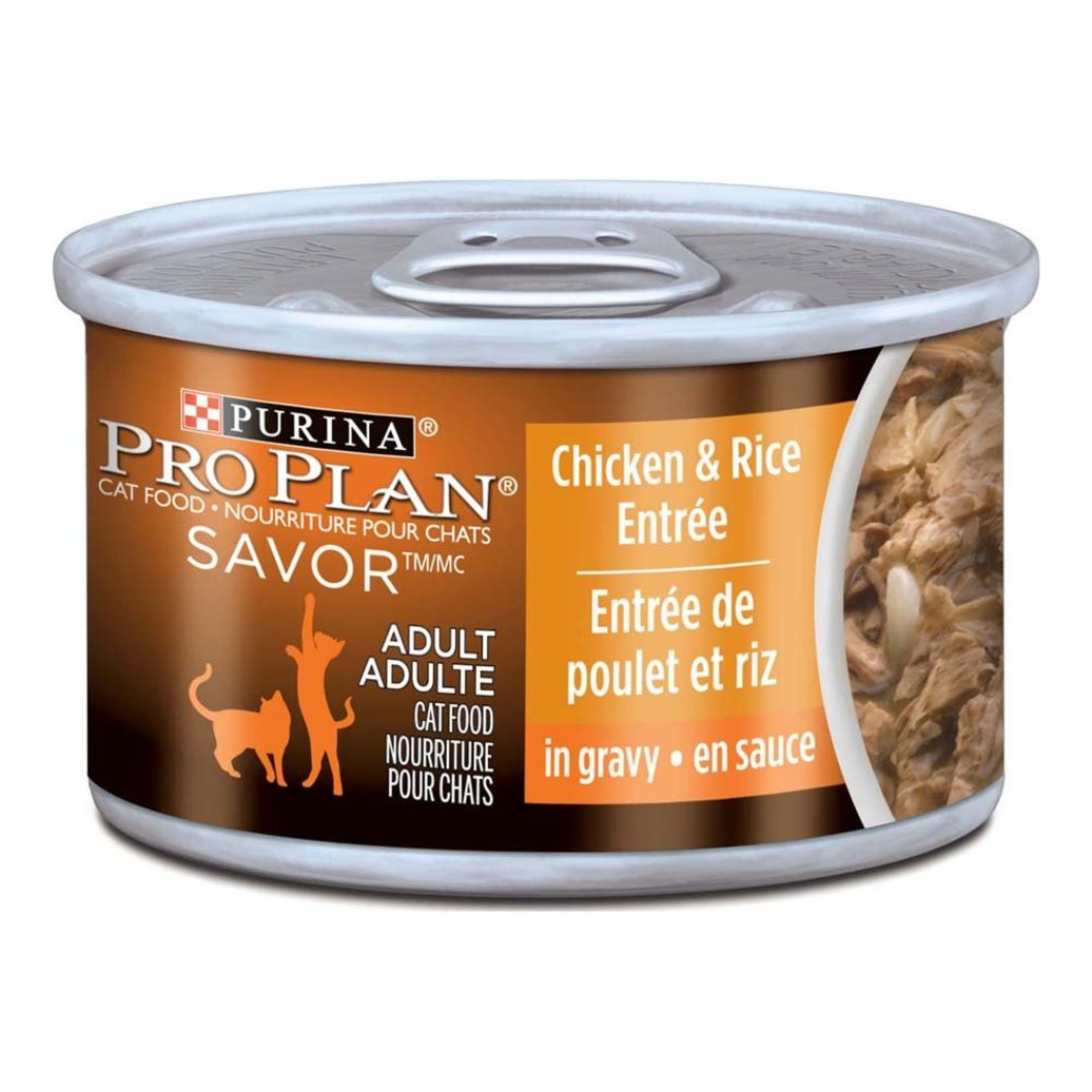 View larger image of Savor Adult Wet Cat Food, Chicken & Rice Entrée in Gravy 85 g