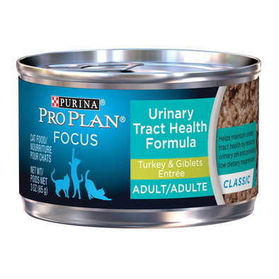 Focus Urinary Tract Health Wet Cat Food, Turkey & Giblets Entree 85 g