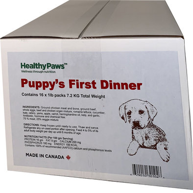 Big Box Dinner Puppy Formula - 16 x 1 lb