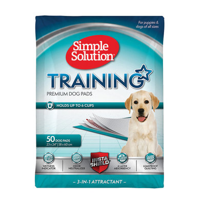 Puppy Pads, Original Training Pads - 50 Pk