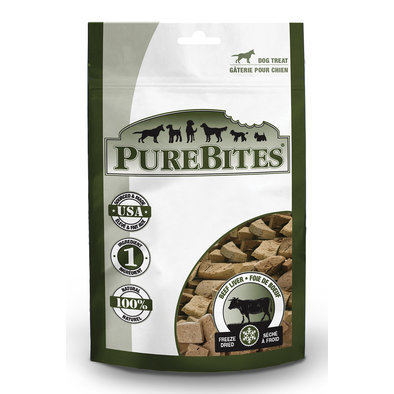 Entry Size Dog Treats, Beef Liver - 57 g