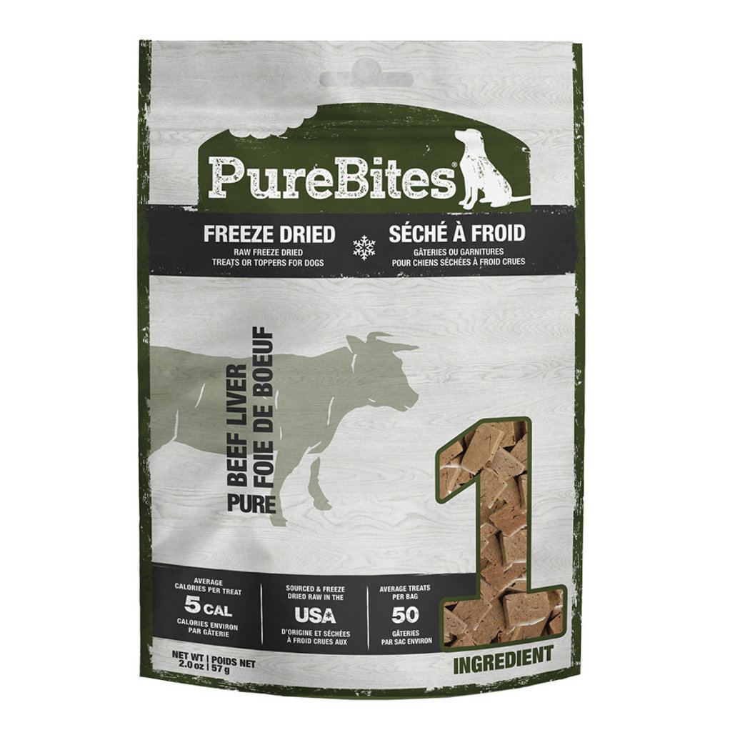 View larger image of Entry Size Dog Treats, Beef Liver - 57 g