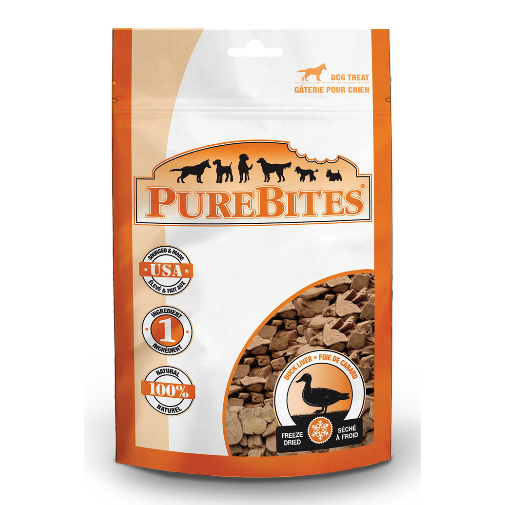 View larger image of Entry Size Dog Treats, Duck - 35 g