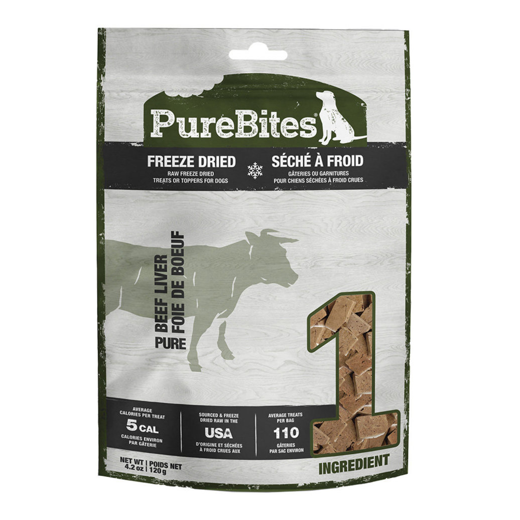 View larger image of Mid Size Dog Treats, Beef Liver - 120 g