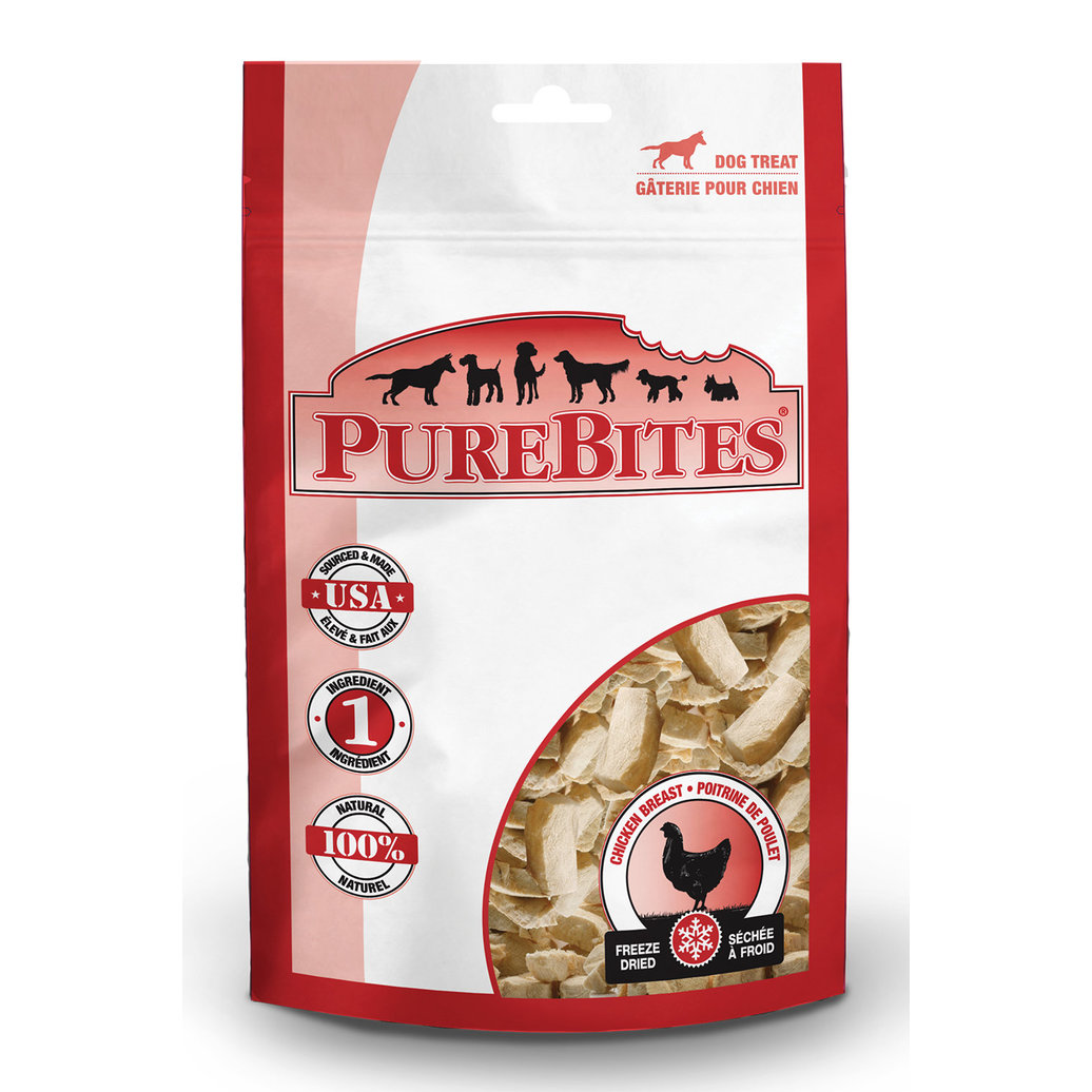 View larger image of Mid Size Dog Treats, Chicken - 85 g