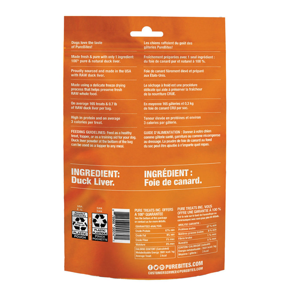 View larger image of Mid Size Dog Treats, Duck - 74 g