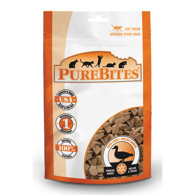 Value Size Cat Treats - Duck - 30 g
