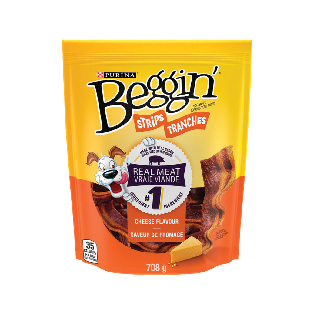 View larger image of Beggin', Dog Treats, Cheese Flavour Snacks - 708 g
