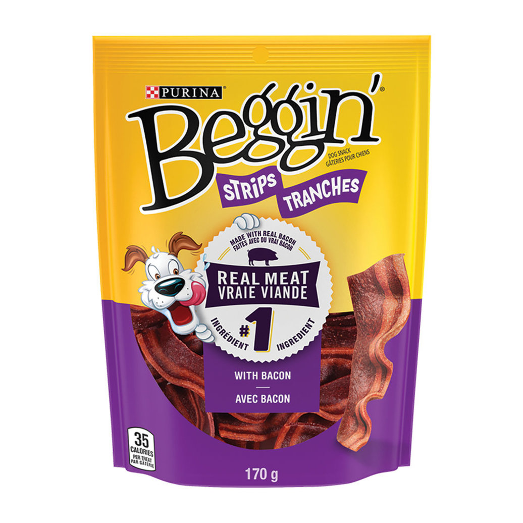 View larger image of Beggin', Dog Treats, Bacon Snacks - 170 g