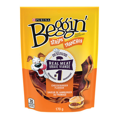Beggin', Dog Treats, Cheeseburger Flavour - 170 g