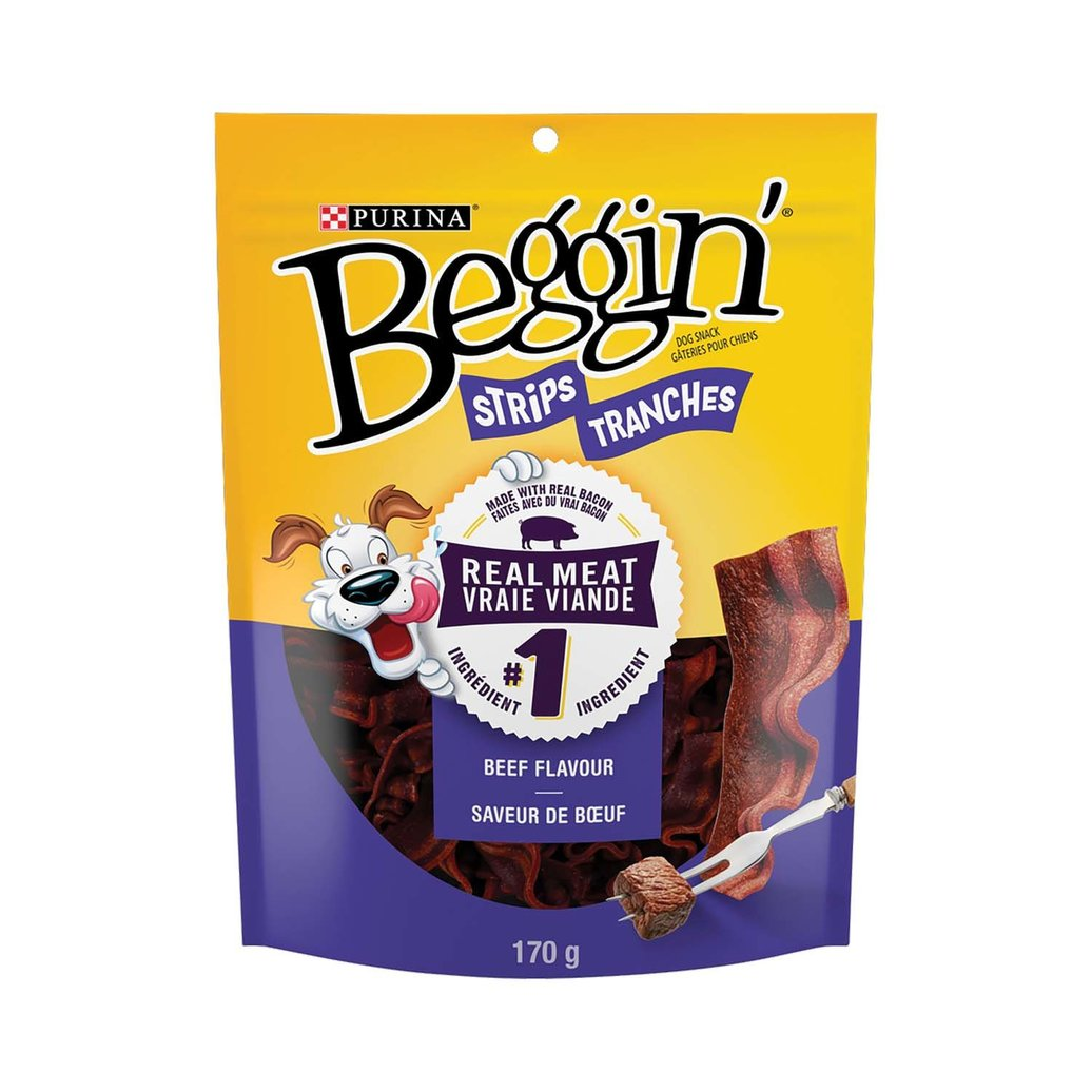 View larger image of Beggin', Beef and Bacon Flavour -170 g