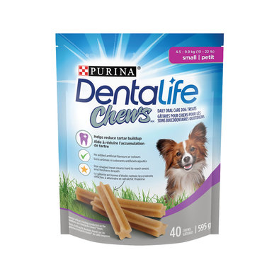 Chews Dental Dog Treats for Small Breed Dogs
