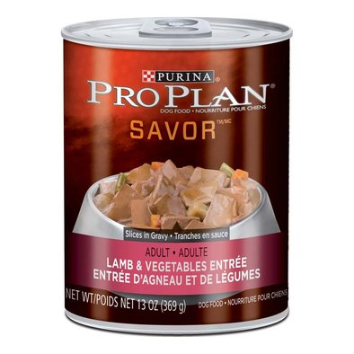 Savor Adult Wet Dog Food, Lamb & Vegetables Entree 369 g