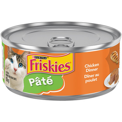 Purina, Friskies Wet Cat Food, Chicken Dinner - 156 g