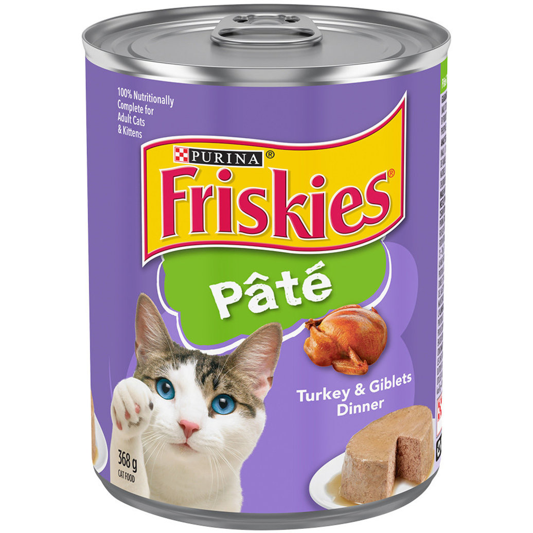 View larger image of Paté Turkey & Giblets Dinner Wet Cat Food