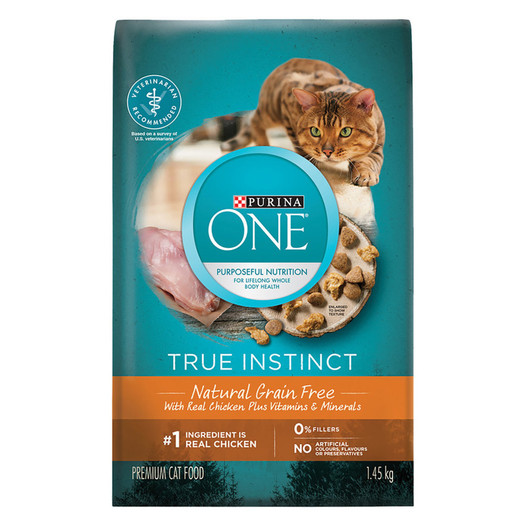 View larger image of True Instinct Grain Free Natural Dry Cat Food, Real Chicken - 1.45 kg