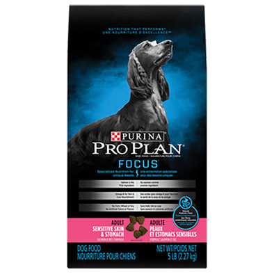 Purina, Focus Adult Sensitive Skin & Stomach Formula Dry Dog Food
