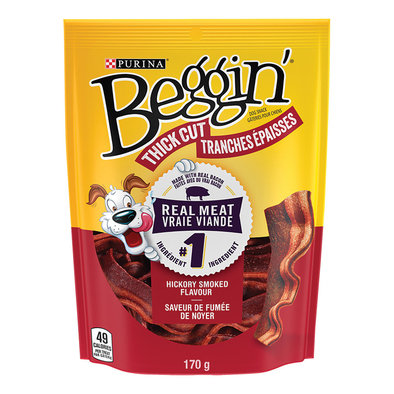 Thick Cut Beggin Strips, Hickory Smoked - 170 g