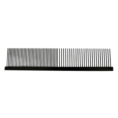 Anti Stat Greyhound Long Pin Comb, Fine/Coarse - 7.5""