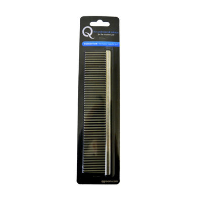 Extra Long Pin Comb, Fine/Coarse - 7.5""
