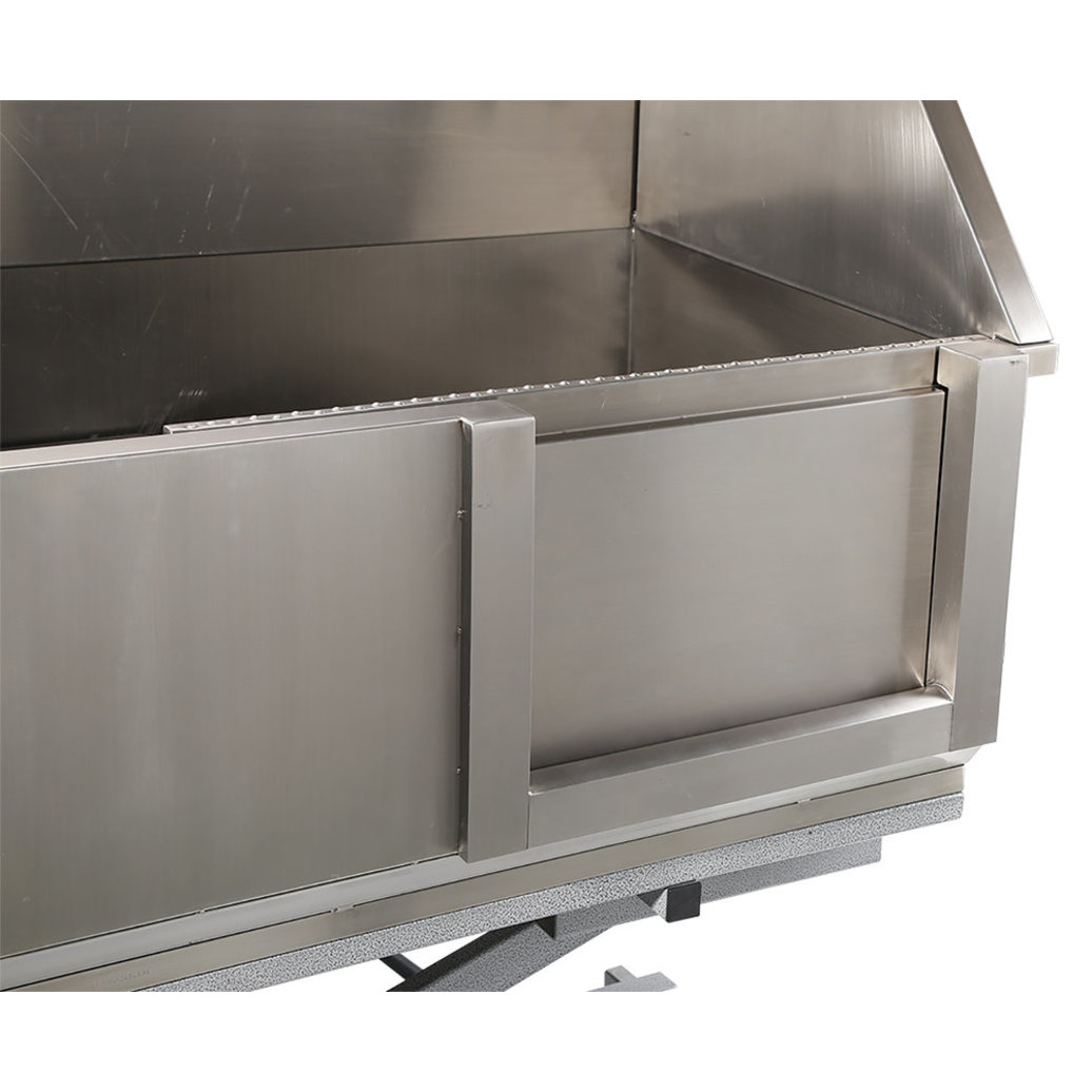 View larger image of Stainless Steel Tub w/ Electric Lifting Base & Sliding Door