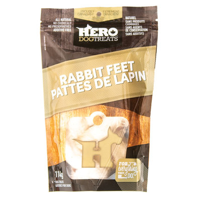 Rabbit Feet - 114 g