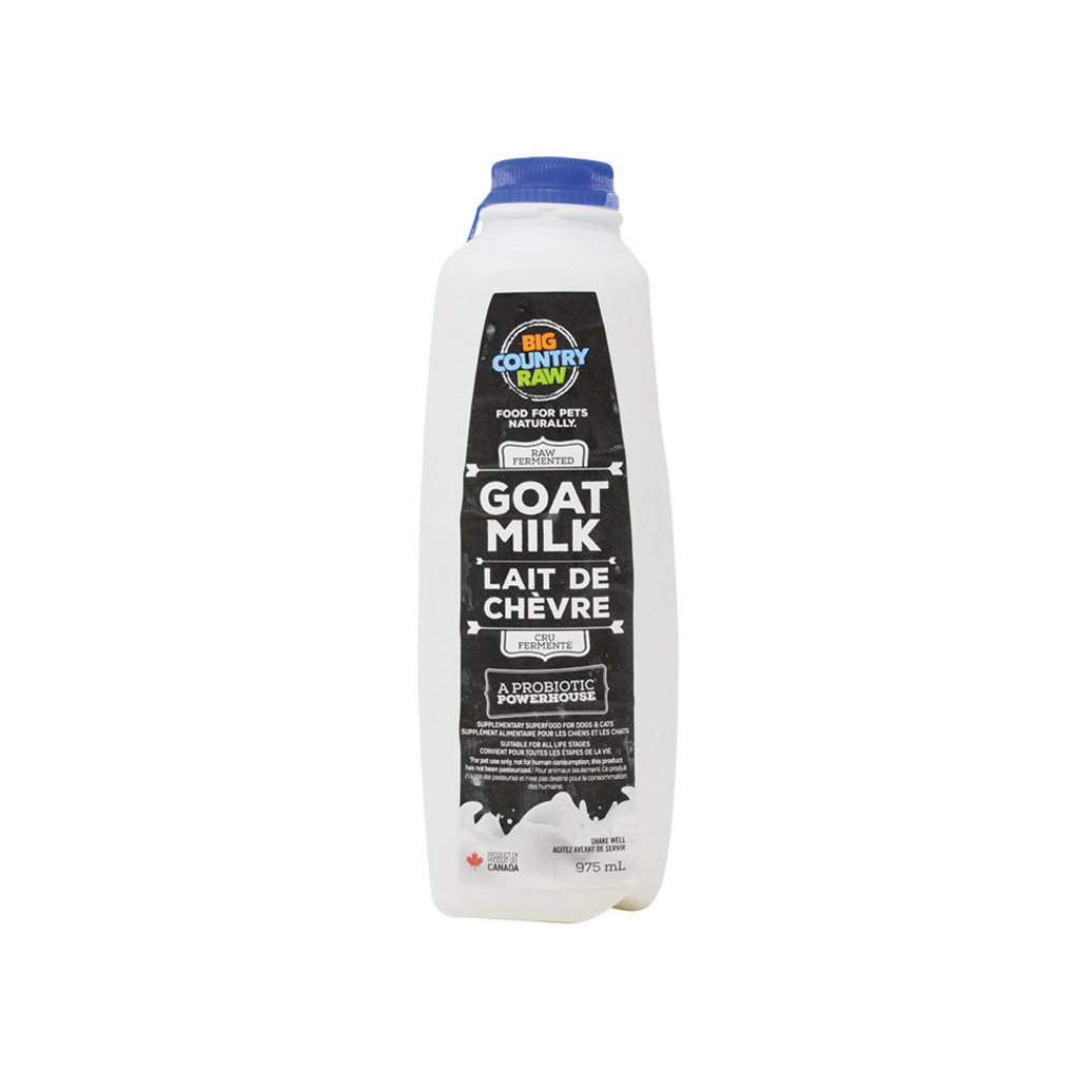 View larger image of Raw Fermented Goats Milk - 975 ml