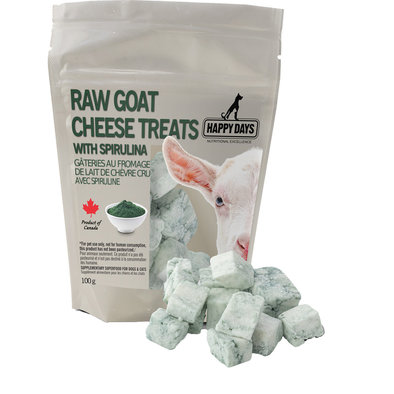 Raw Goat Cheese Treats - 100g