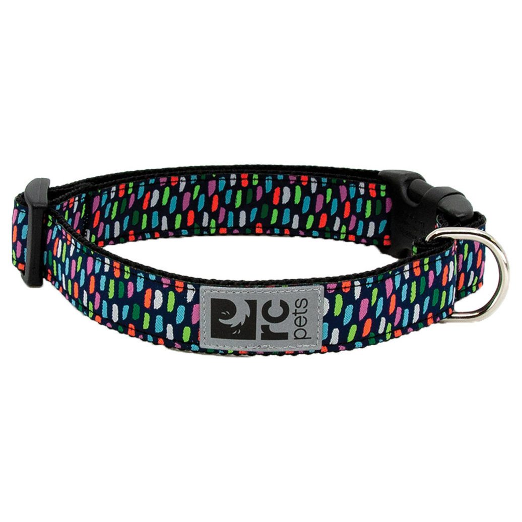 "View larger image of Clip Collar - Confetti - 1"" Width - Medium"