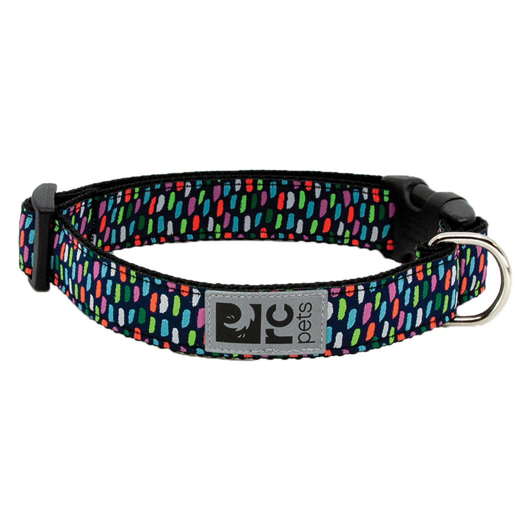 "View larger image of Clip Collar - Confetti - 3/4"" Width - Small"