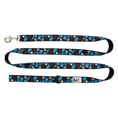 "Leash - Pitter Pat Chocolate - 1"" Width - 6'"
