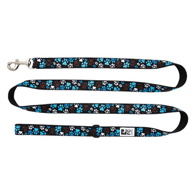 "Leash - Pitter Pat Chocolate - 3/4"" Width - 6'"