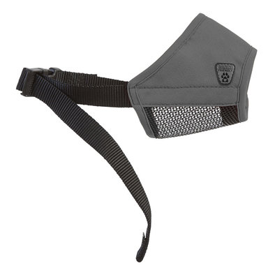 RC Soft Fit Muzzle - Charcoal