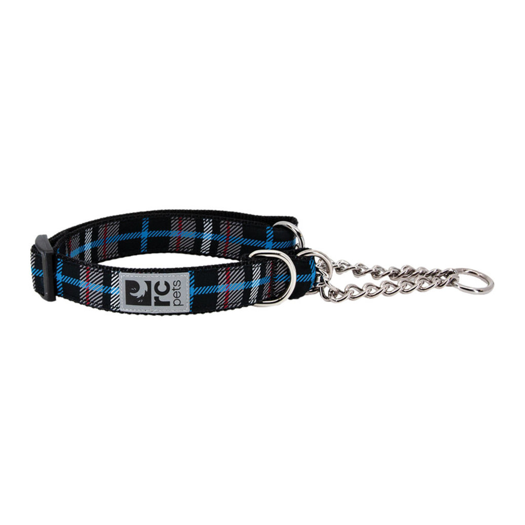 View larger image of Training Collar - Black Twill Plaid - Small