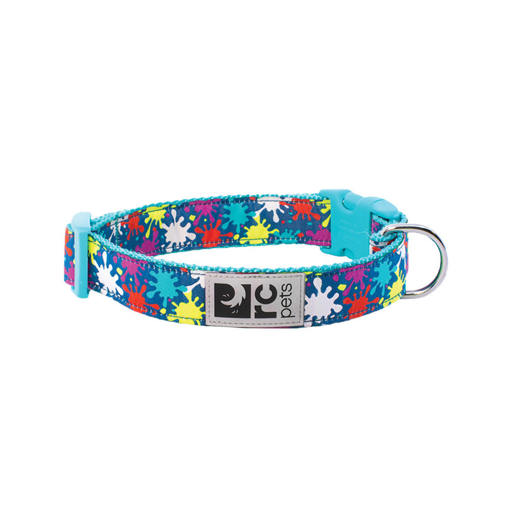 "View larger image of Clip Collar - Splatter - 1"" Width - Large"