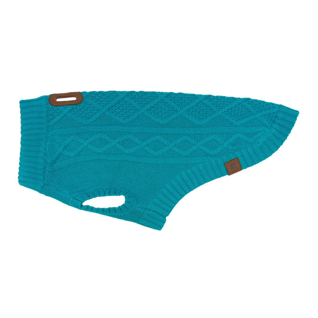 View larger image of Cable Sweater - Dark Teal