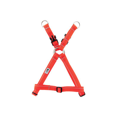 "Harness - Step In - Orange - 1/2"" Width"