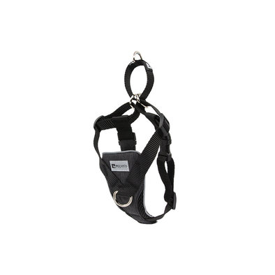 Harness - Tempo No Pull - Heather Black
