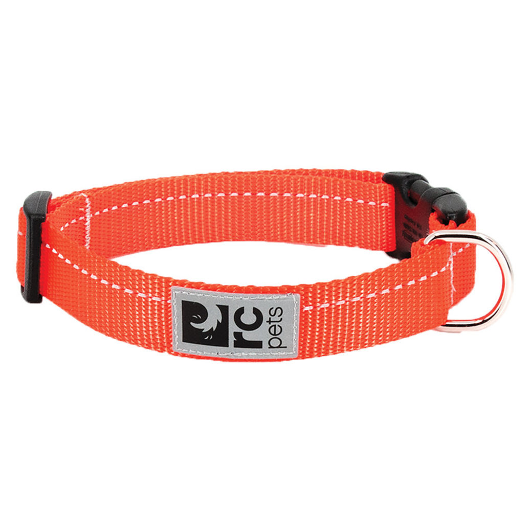 """View larger image of Primary Clip Collar - Orange - 1/2"""" Width"""