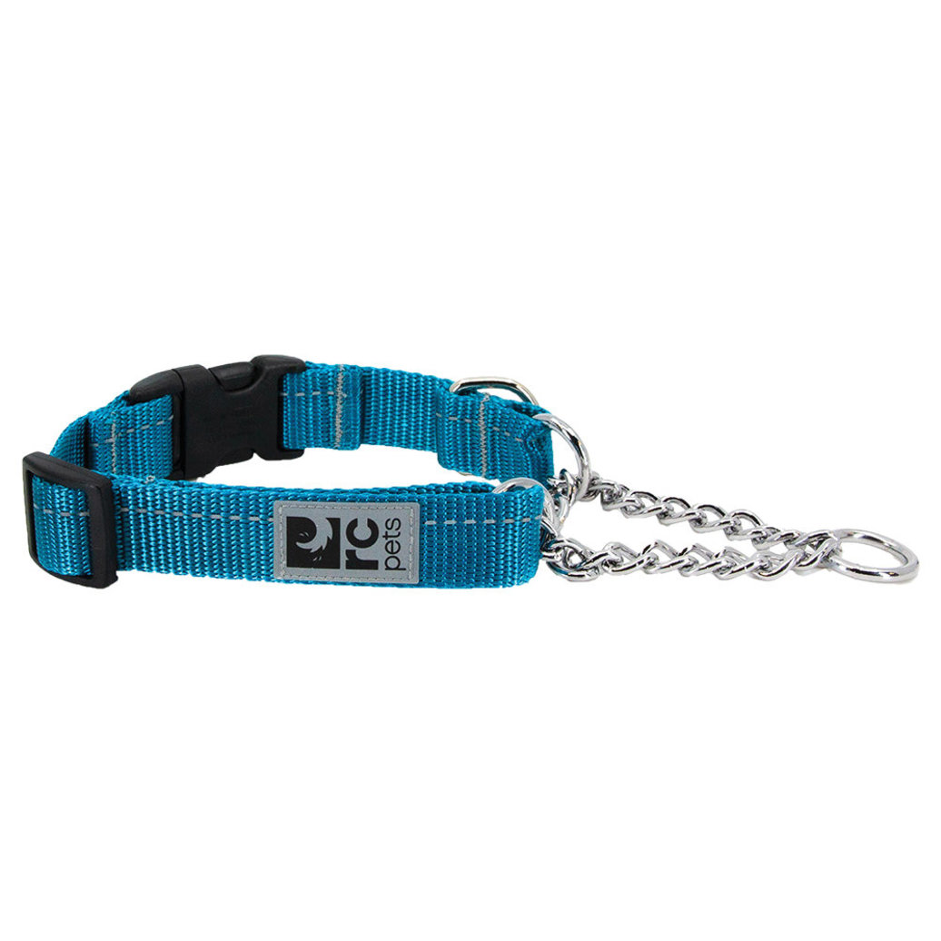 View larger image of Primary Training Clip Collar - Dark Teal - 5/8'' Width