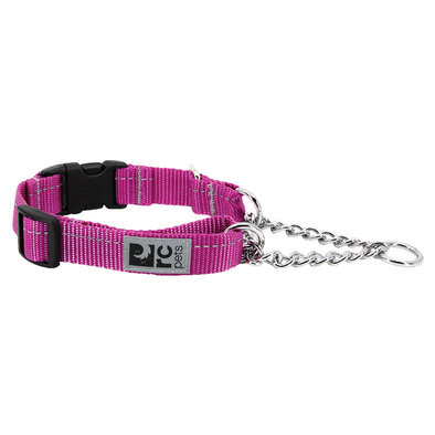 Primary Training Clip Collar - Mulberry - 5/8'' Width