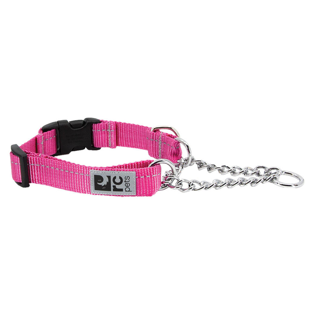 View larger image of Primary Training Clip Collar - Raspberry - 5/8'' Width